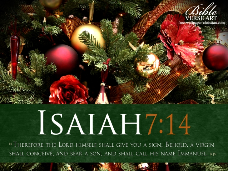 Christian-Wallpaper-Isaiah-7-14-kjv