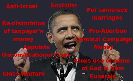 obama evil anti christian