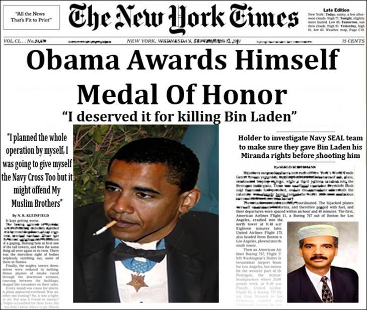 Obama MOH