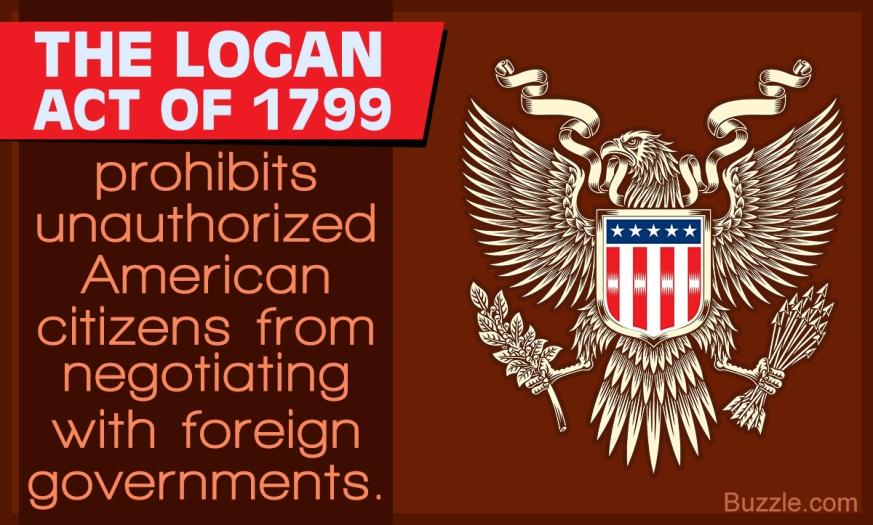 LOGAN ACT USA 1799!!