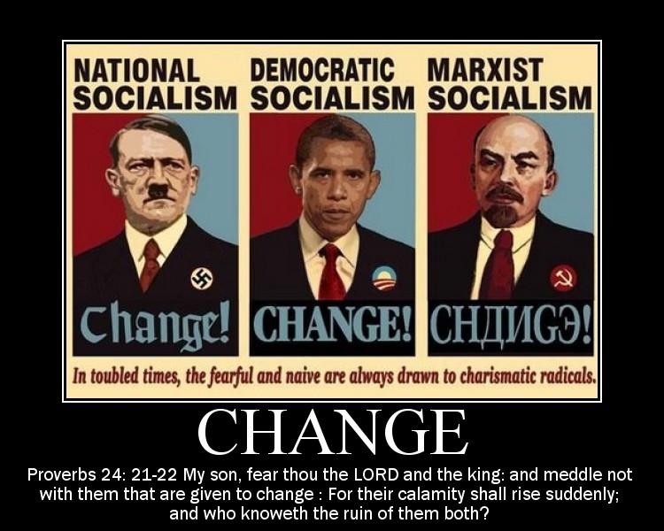 Anti Obama poster VII