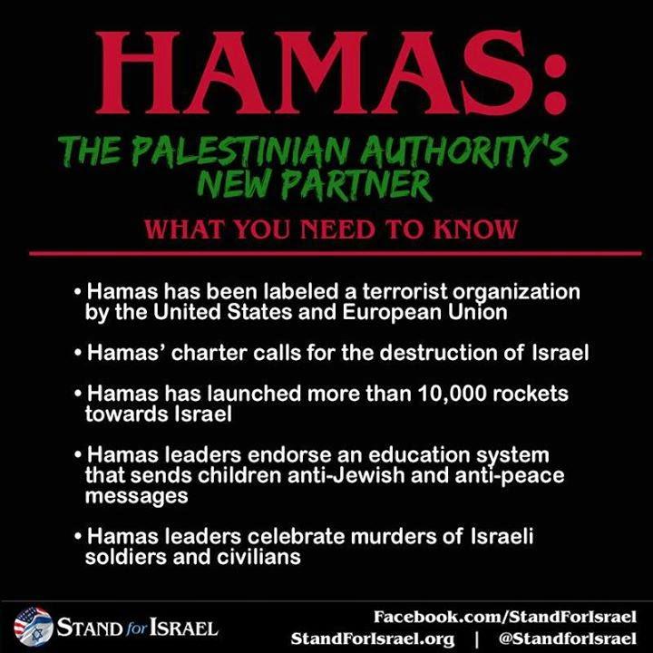 Hamas The Palestinian Authority's new partner