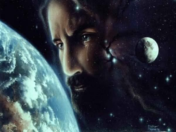 jesuscryingattheworld