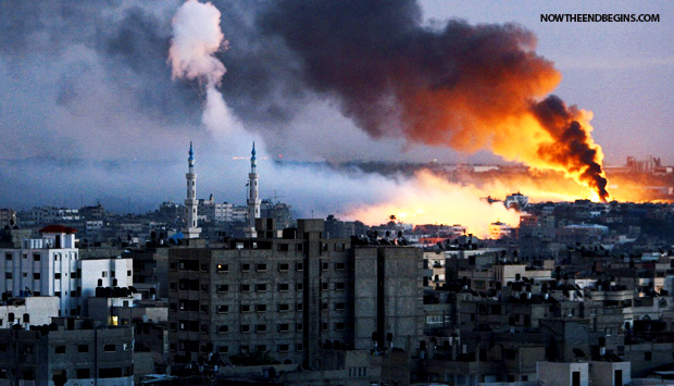 israel-strikes-hamas-targets-in-gaza-july-8.2014