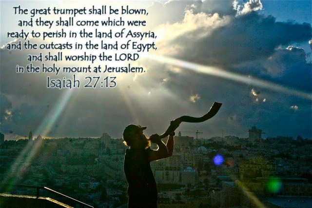 Image result for Isaiah 27:12-13