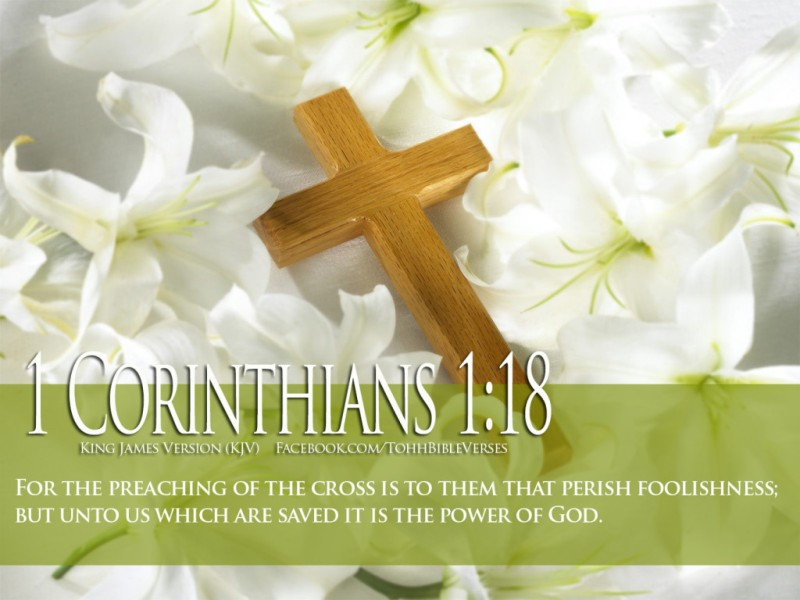 Bible-Verses-On-Faith-1-Corinthians-1-18-With-Cross-And-Flowers-HD-Wallpaper-1024x768