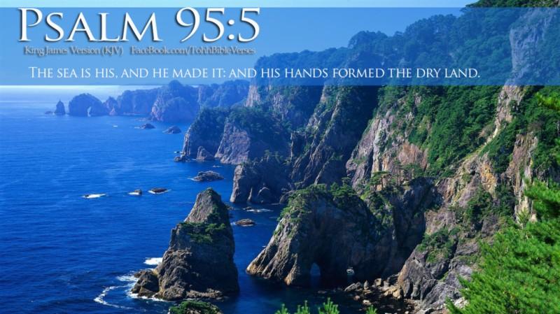Psalm 95 5 kjv kristi ann 39 s haven for The fish 95 5