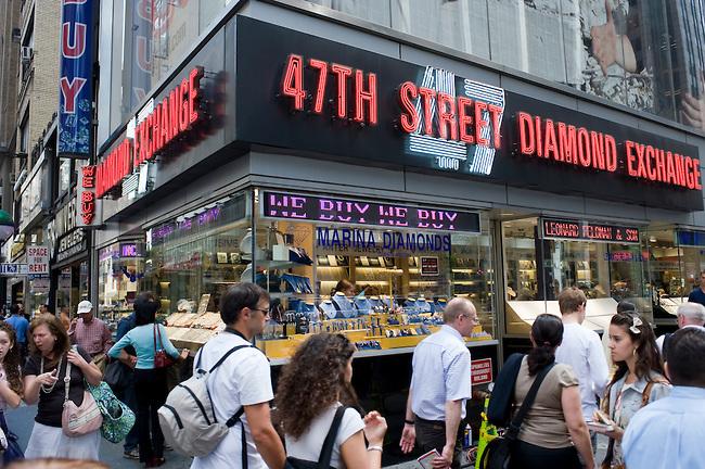 Diamond District New York 47th street