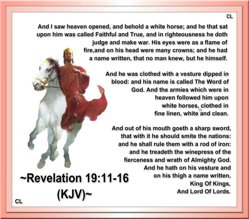 Revelations 3 11 lt 3 Revelation 19 11 16