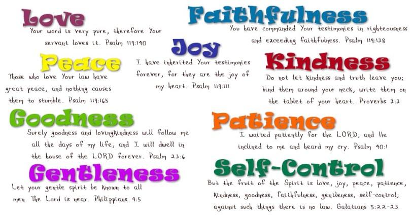 fruit press fruits of the spirit kjv