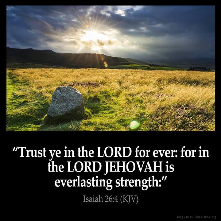 JEHOVAH – Isaiah 26:4 KJV!! | Kristi Ann's Haven