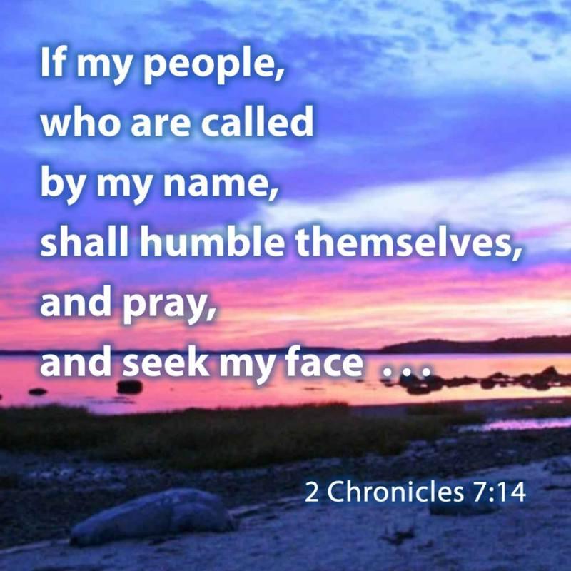 II Chronicles 7:14 KJV!!