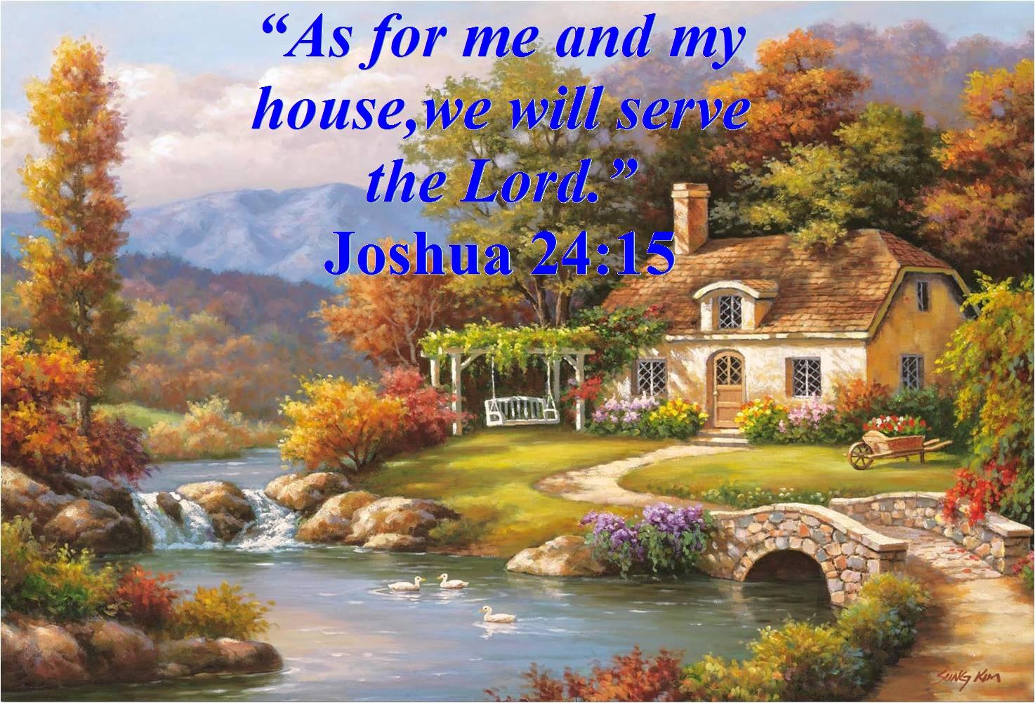 Joshua 24 15 Kjv Kristi Ann S Haven