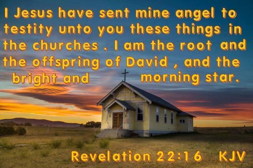 Revelation 22:16 KJV!! | Kristi Ann's Haven