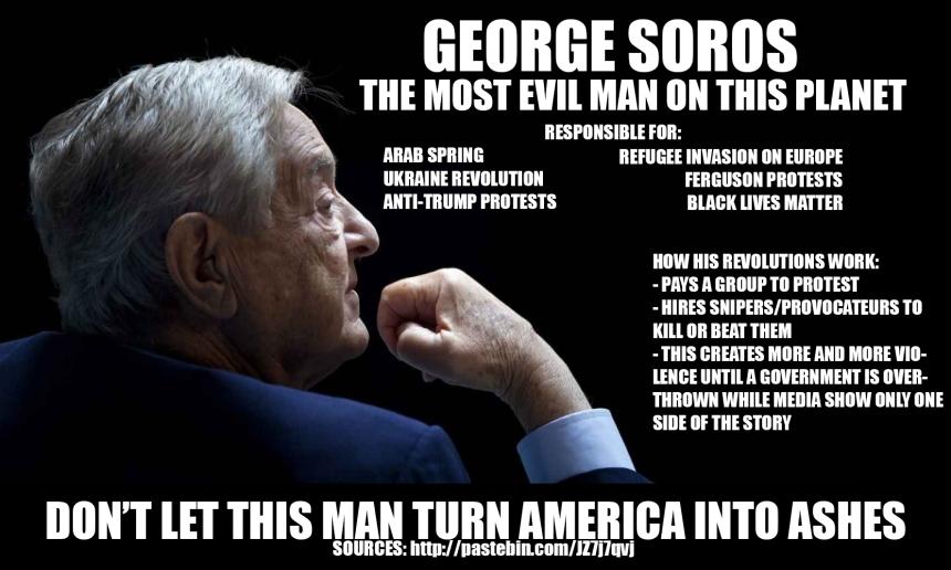 George Soros is Anti-USA / Anti-Israel!! | Kristi Ann's Haven
