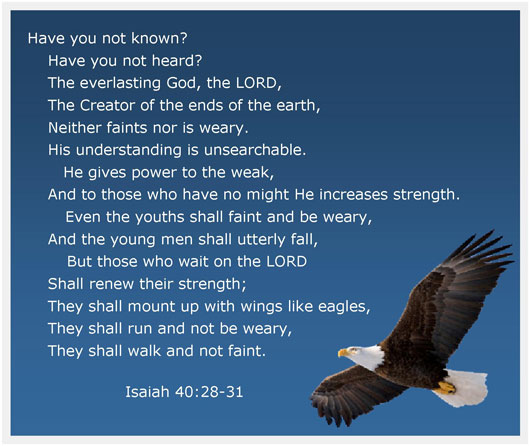 Image result for Isaiah 40:28