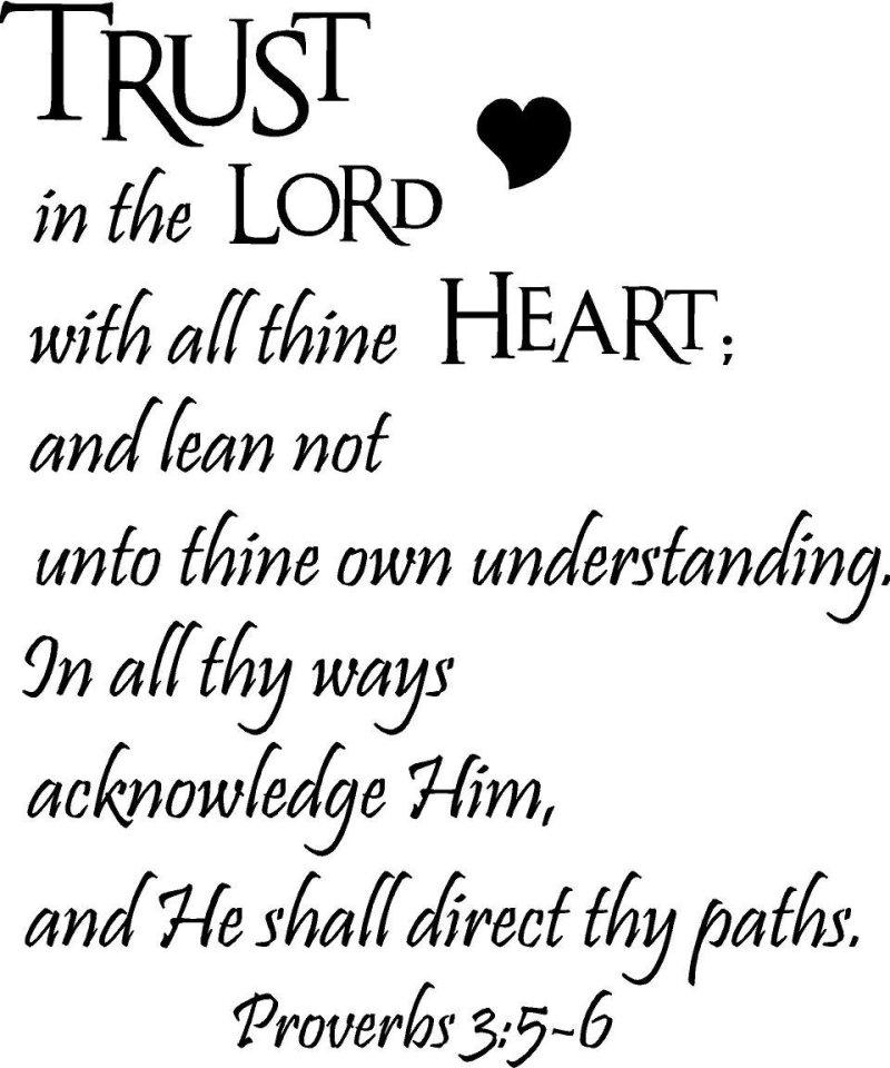 Proverbs 3 5 6 Kjv Kristi Ann S Haven
