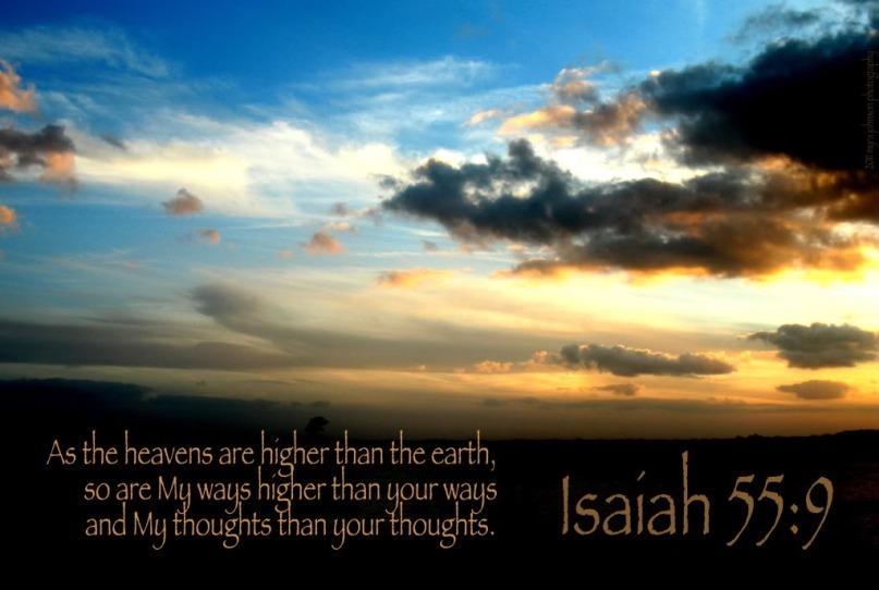 Isaiah 55:9 KJV!!
