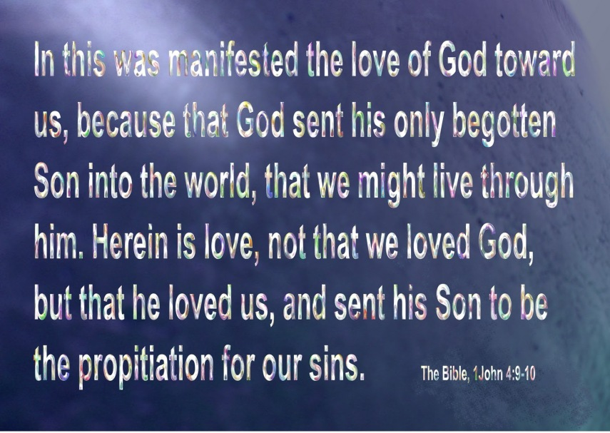 1 John 4, 9-10