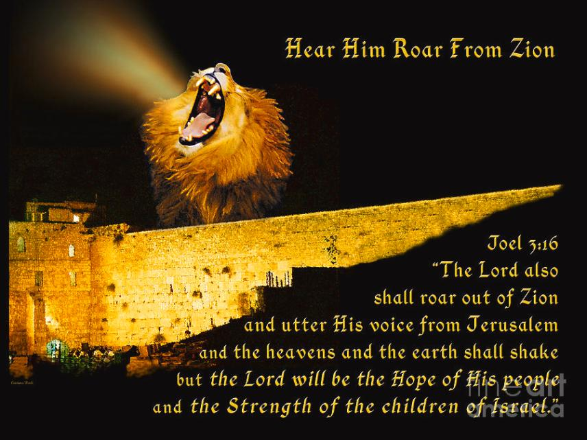 The LORD also Shall Roar out of Zion and more Blessings!! | Kristi Ann's  Haven