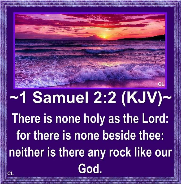Image result for 1 Samuel 2:2