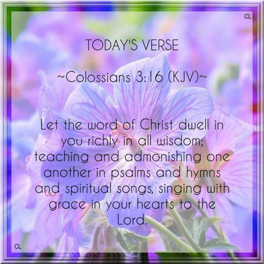 Image result for colossians 3:16