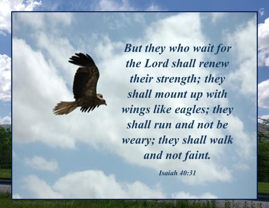 ISAIAH 40-31 KJV HALLELUJAH and AMEN-AMEIN!!