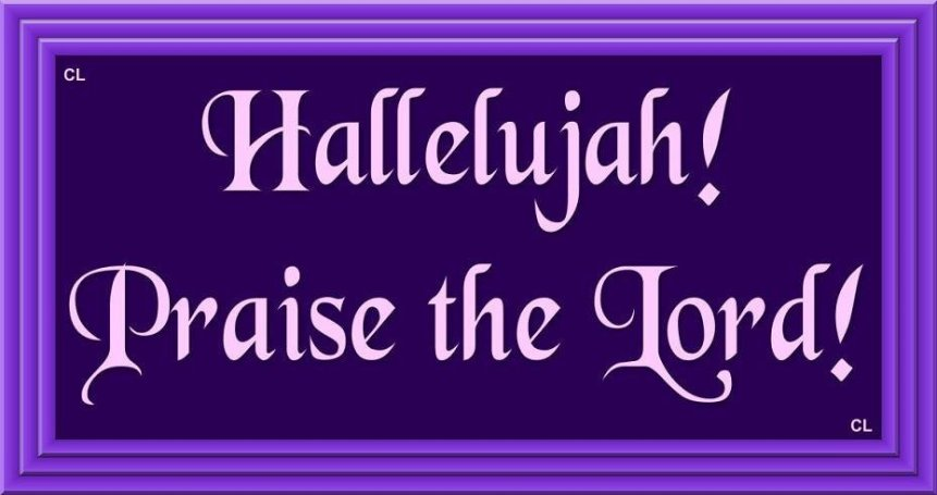Sing Hallelujah Amen!!