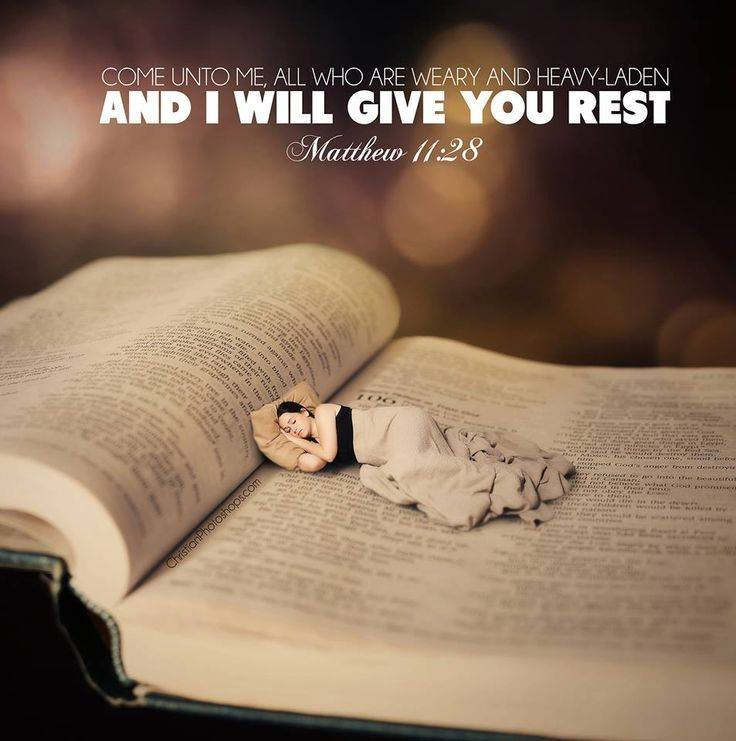 Image result for weary and heavy laden kjv