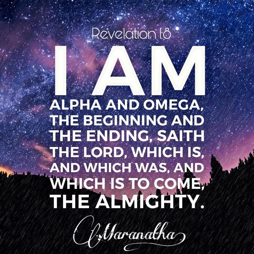 I AM The ALPHA And OMEGA!! And More Blessings!!